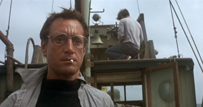 "roy scheider as police chief martin brody in ""jaws"""