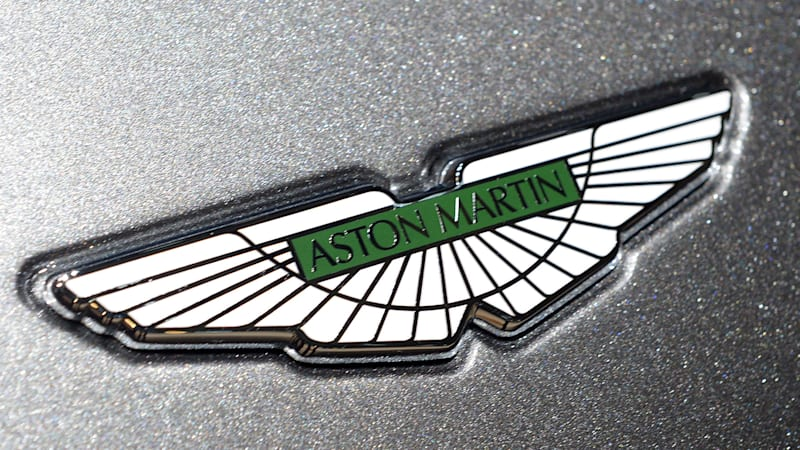Aston Martin may have filed a trademark for a new logo