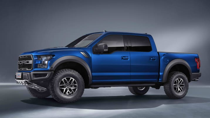 Featured Gallery Chinese-market Ford F-150 SVT Raptor SuperCrew
