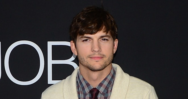 Ashton Kutcher at the Los Angeles special screening of 'Jobs' on August 13, 2013