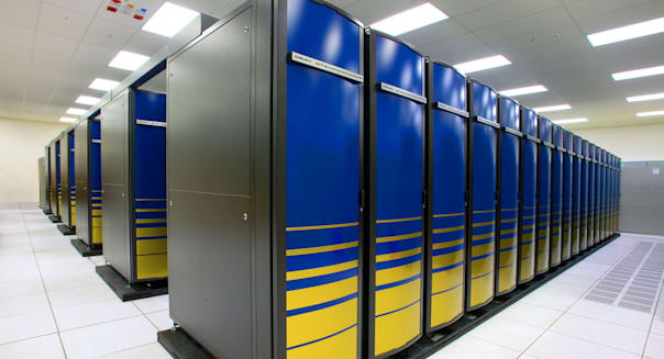 NERSC Franklin Cray XT4s - supercomputer cluster