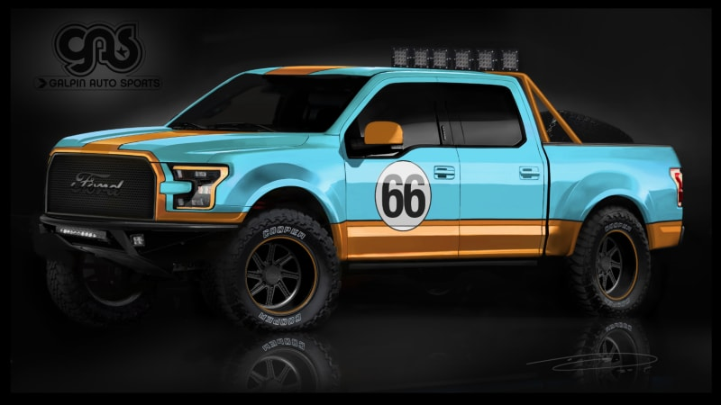 Ford bringing custom F-150s from Roush and Galpin to SEMA