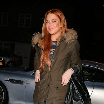 Lindsay Lohan Sighting In London - January 14, 2014