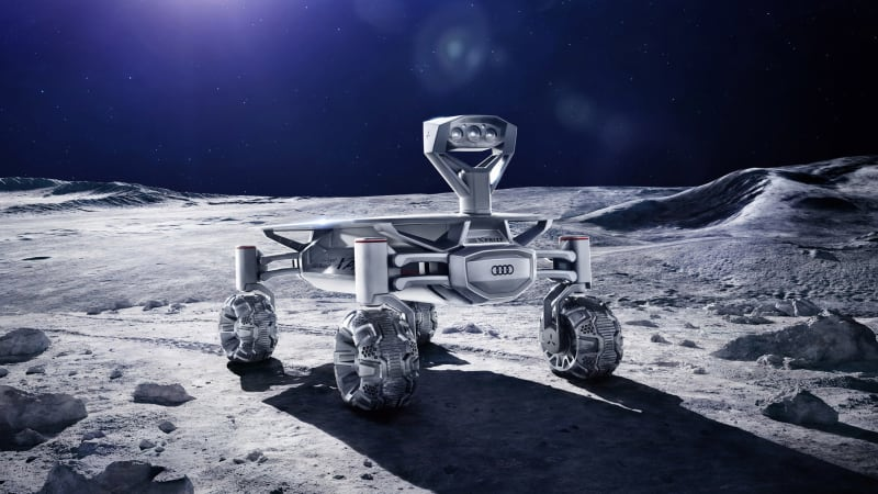 Audi S Lunar Rover Is Nearly Ready For The Moon Autoblog