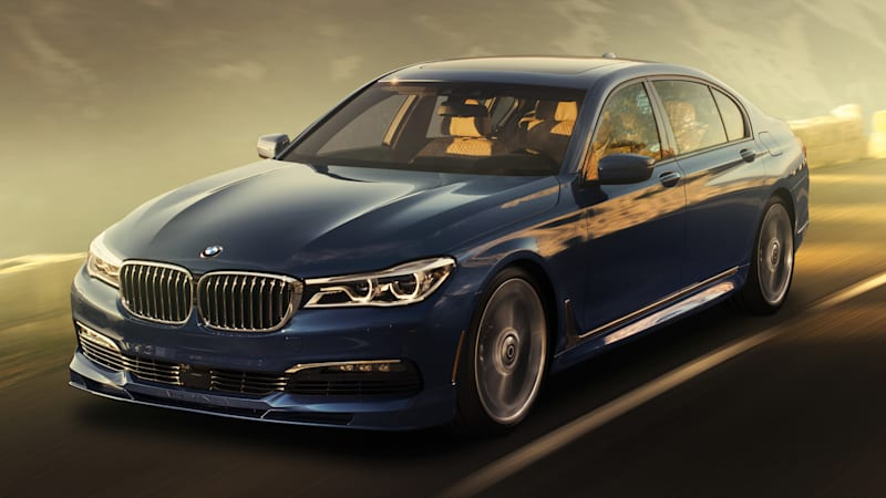 Forget About An M7: This Is The New B7 From Alpina, Packing 600 Horsepower,  All Wheel Drive, And A 0 60 Time Of Just 3.6 Seconds. The Mercedes AMG S63  And ...