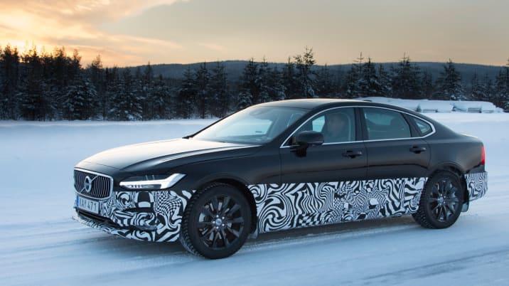 Volvo S90 Prototype