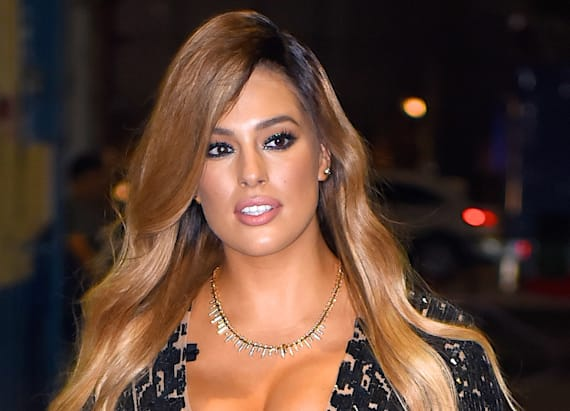 Ashley Graham's cleavage-baring ensemble