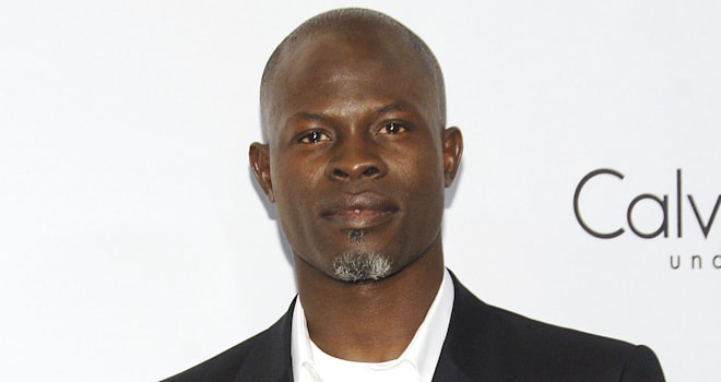 Djimon Hounsou at The 25th Anniversary Party of Calvin Klein Underwear on September 5, 2007, in New York City