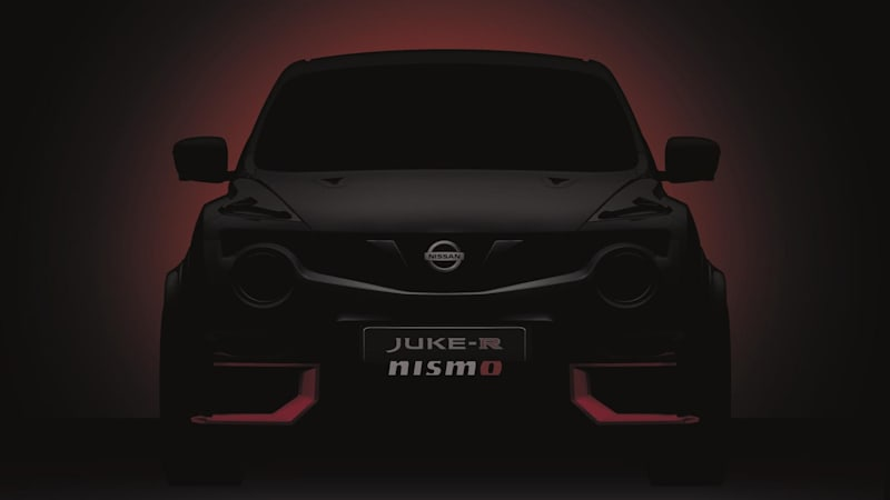 Nissan Previews Juke R Nismo For Goodwood Debut