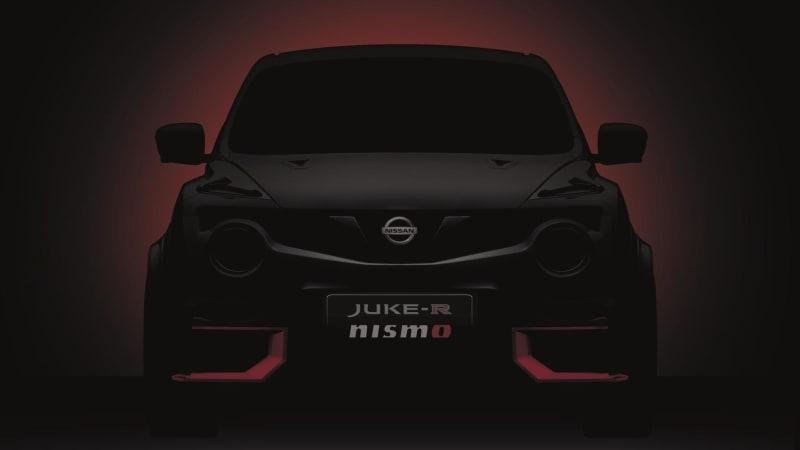 Nissan Previews Juke R Nismo For Goodwood Debut