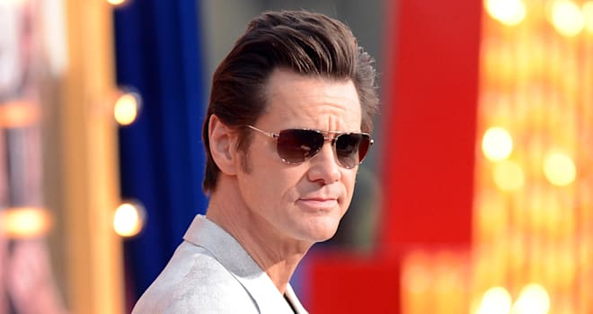 Jim Carrey at 'The Incredible Burt Wonderstone' Premiere on March 11, 2013