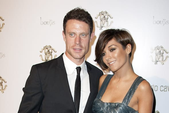 Frankie Sandford and Wayne Bridge who have welcomed their first baby