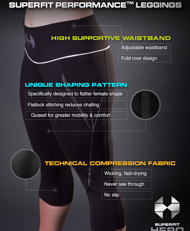 Superfit Hero leggings