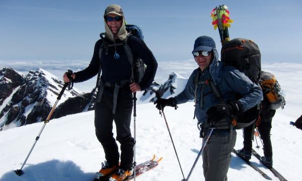 Mt St Helens ski