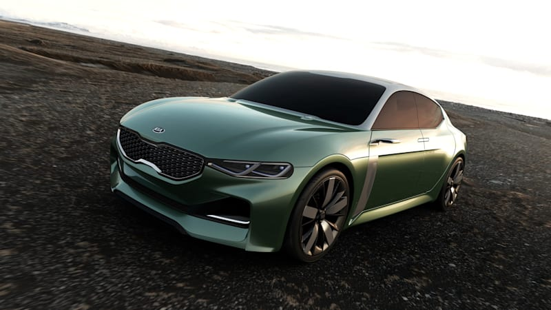 Kia to launch four-door coupe next year