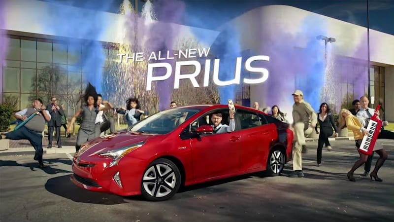 Toyota Prius Super Bowl commercial is so metal, bro