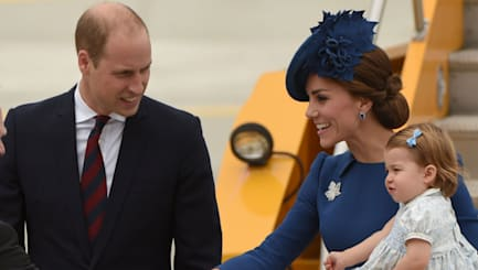 Prince William and family arrive in Canada