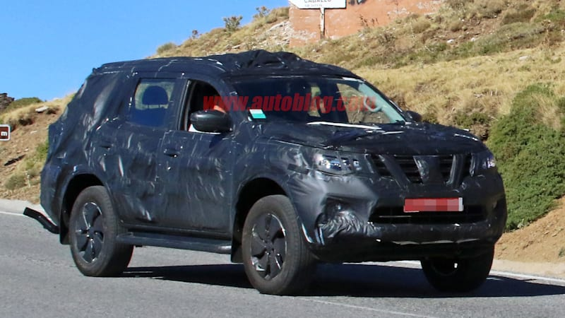 this nissan navara based suv could be the next xterra but