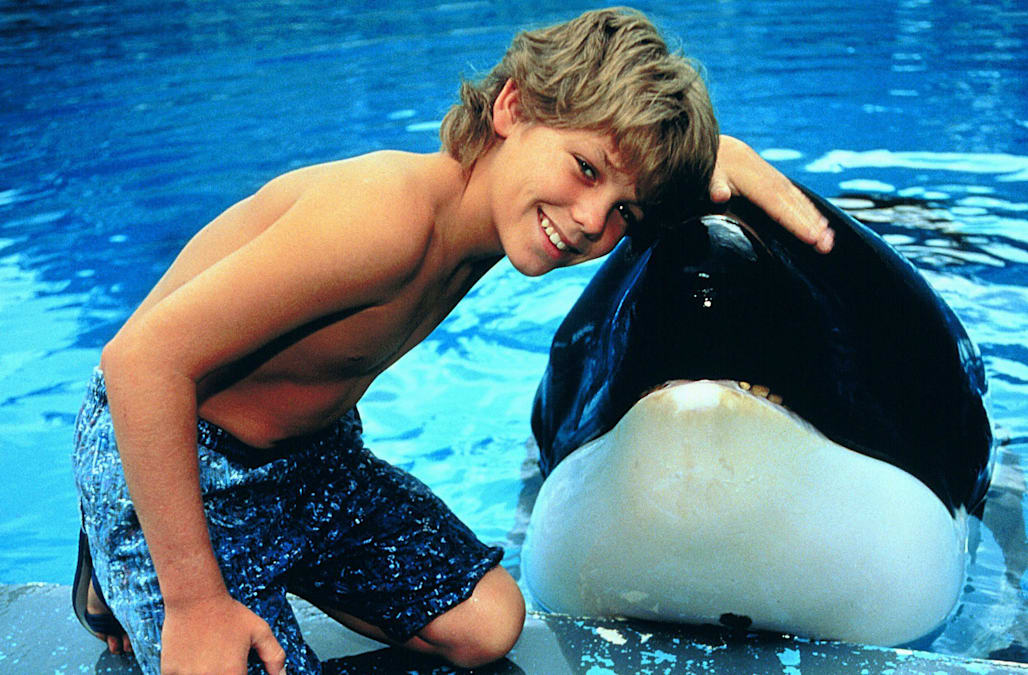 JASON JAMES RICHTER & WHALE FREE WILLY (1993)