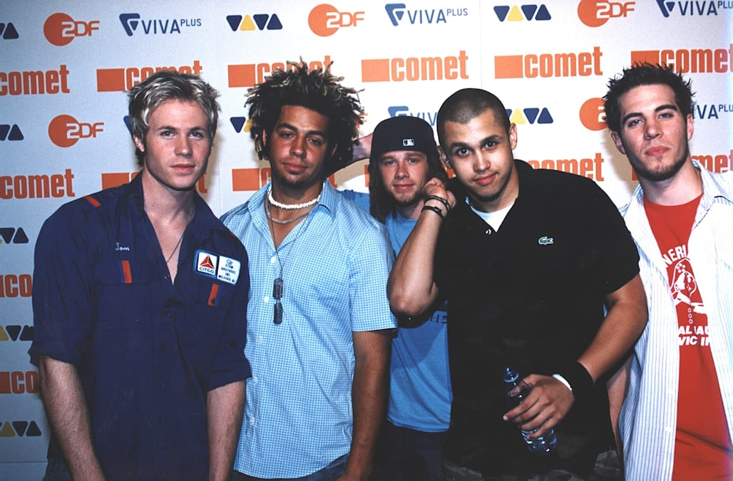 "Musikgruppe ""O-Town"", Verleihung Musikpreis ""Comet 2002"" (durch ""VIVA"", ""VIVA Plus"","