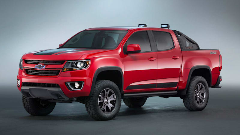 chevy colorado z71 trail boss 3 0 concept heads to sema autoblog. Black Bedroom Furniture Sets. Home Design Ideas