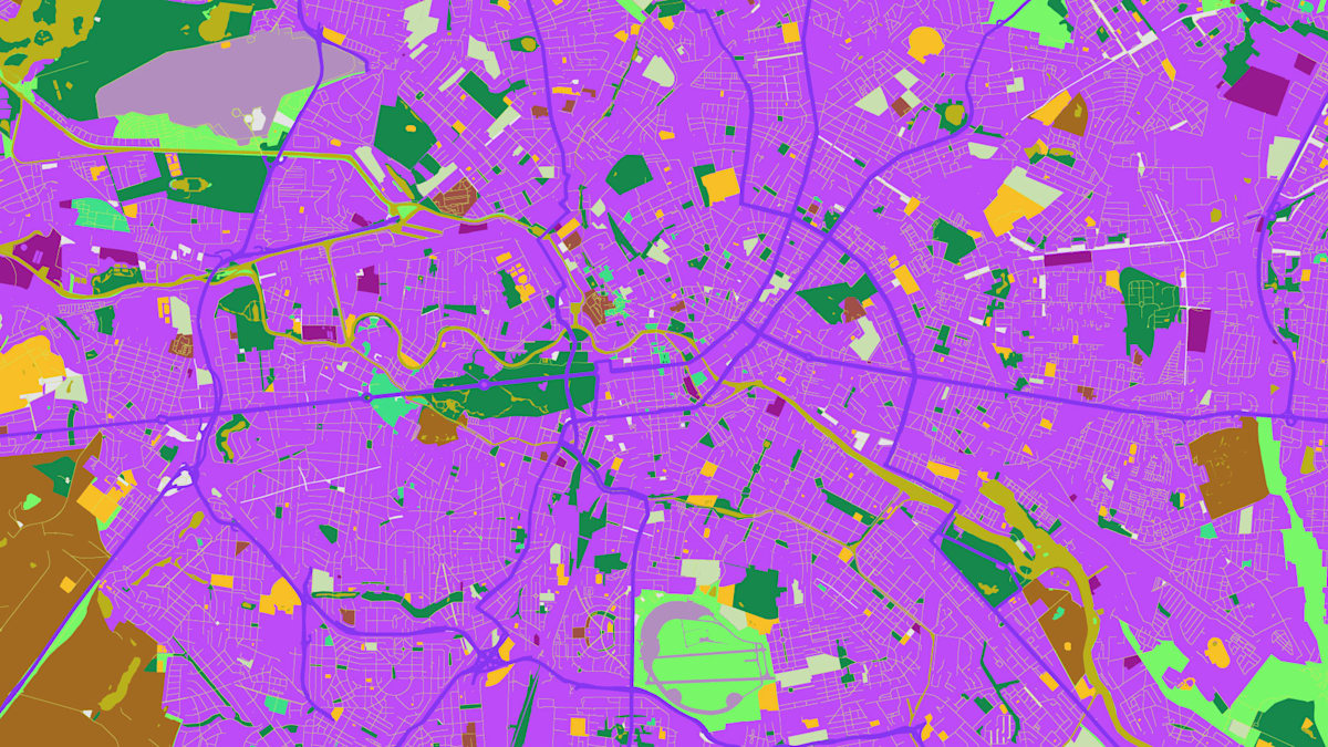 The Big Picture: Google Maps hack creates crazy custom art