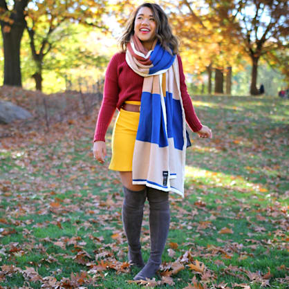 Street style tip of the day: Goodbye fall