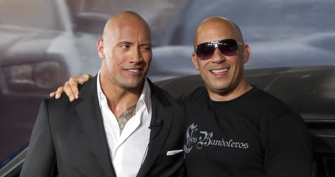 Is The Rock and Vin Diesel's Feud Really a WWE Publicity Stunt?