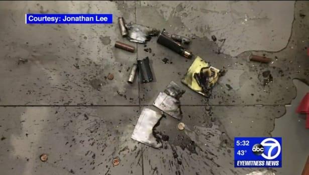 Un homme gravement blessé par l'explosion de sa cigarette électronique (vidéo)