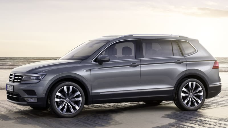 volkswagen tiguan allspace makes euro debut with tdi. Black Bedroom Furniture Sets. Home Design Ideas