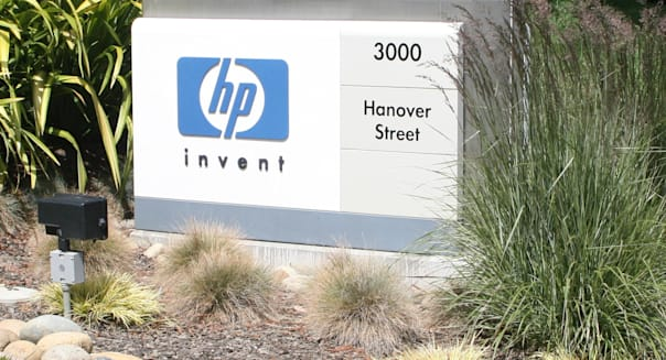 May 28, 2010 - Palo Alto, California, USA - Worldwide headquarters of Hewlett-Packard Company located at 3000 Hanover Street, Pa