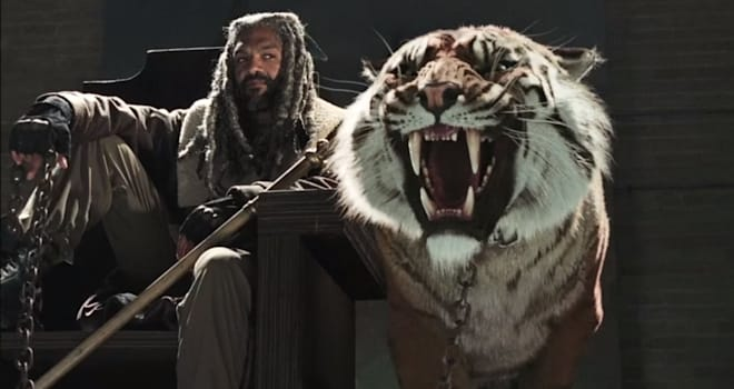 the walking dead, ezekiel, season 7, khary payton, the kingdom