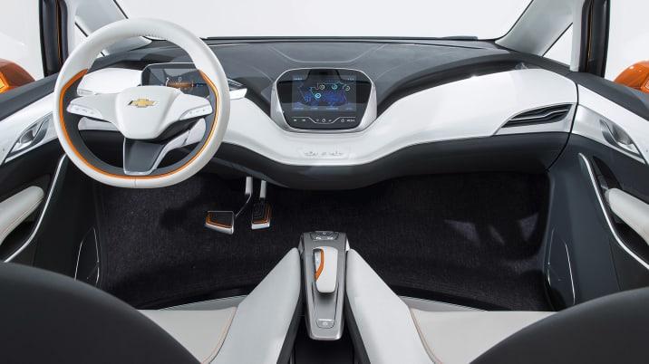 Chevy Bolt EV Concpept Interior