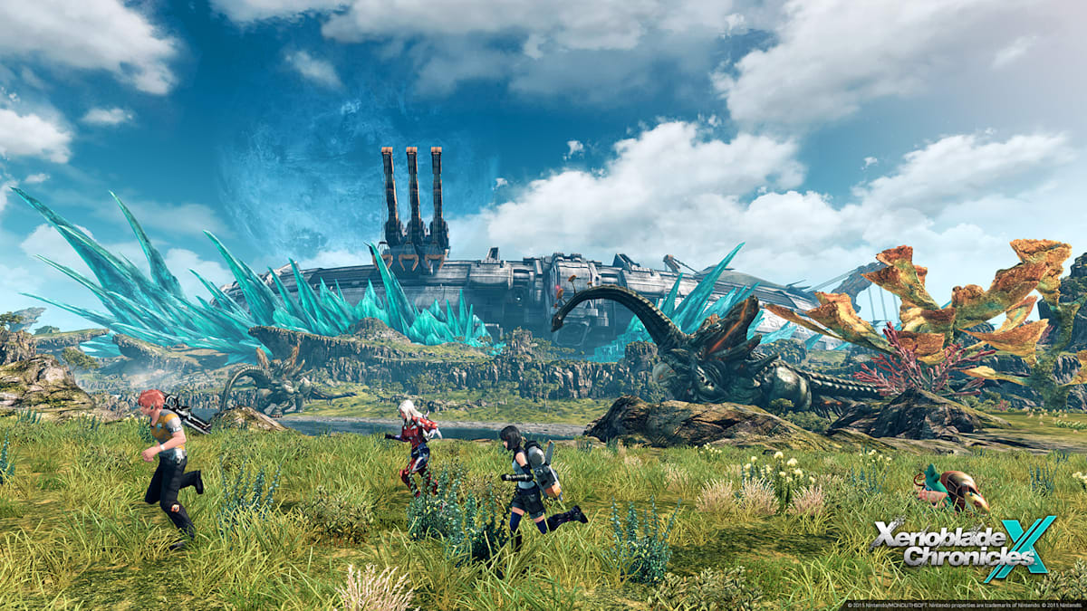 Playdate: Exploring a new world in 'Xenoblade Ch