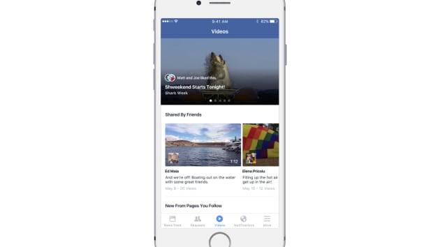 Facebook testing YouTube-like dedicated video hub