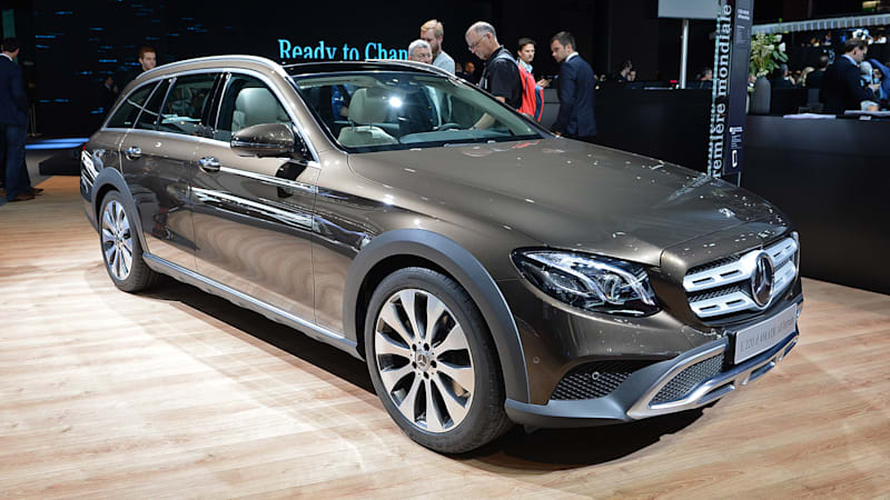 mercedes e class all terrain shows germans can do tough looking wagons too autoblog. Black Bedroom Furniture Sets. Home Design Ideas