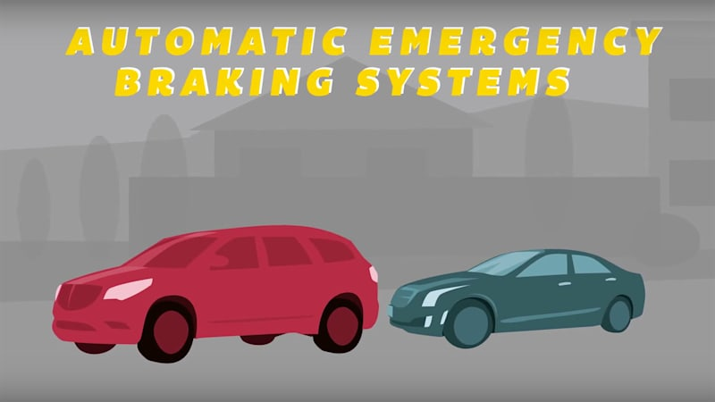 NHTSA, IIHS, and 20 automakers to make auto braking standard by 2022