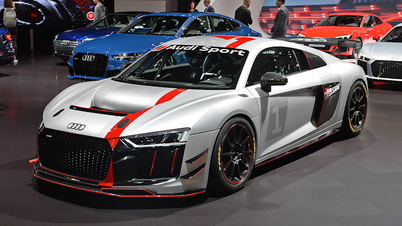 Audi R8 LMS GT4 debuts in New York, a ready-made race car | Nuxbi