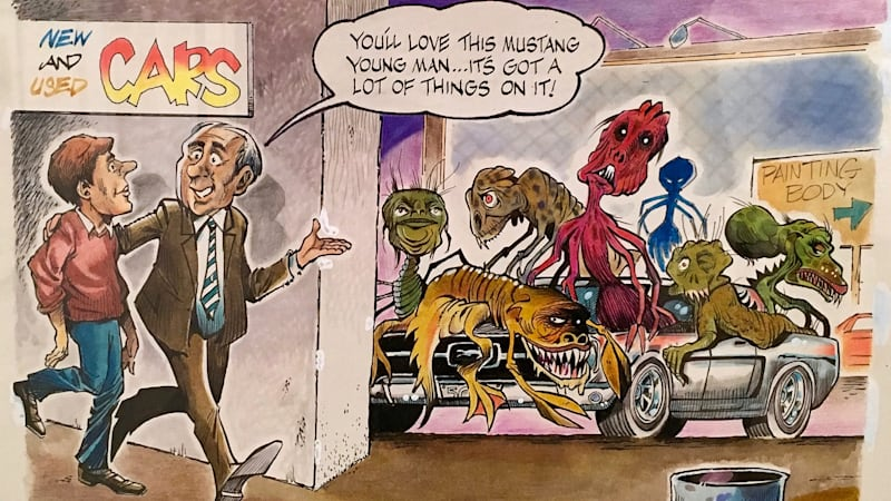 Yes, car comics do belong in an art museum