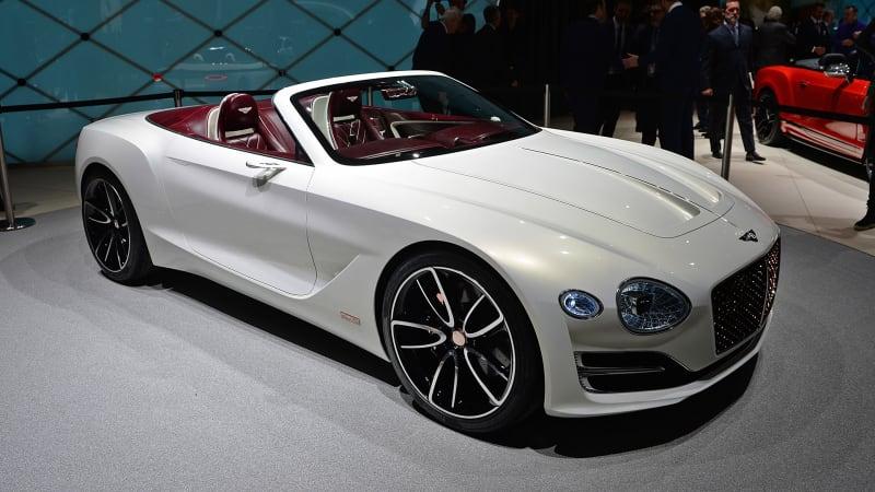 The Bentley EXP 12 Speed 6e Concept is the gentleman