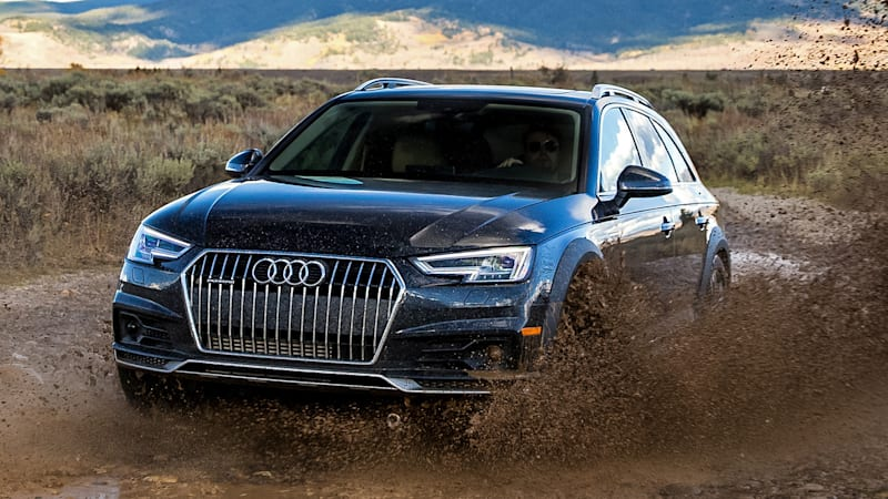 An Outback for architects   2017 Audi A4 Allroad First Drive