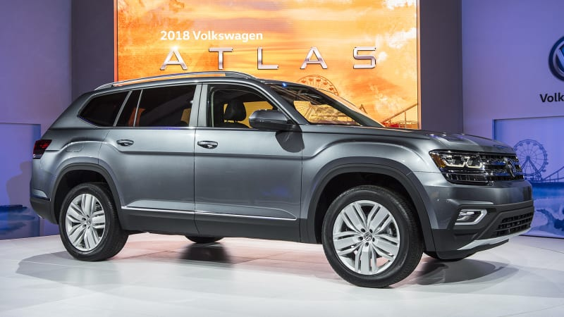 The 2018 Volkswagen Atlas three-row crossover is here - Autoblog