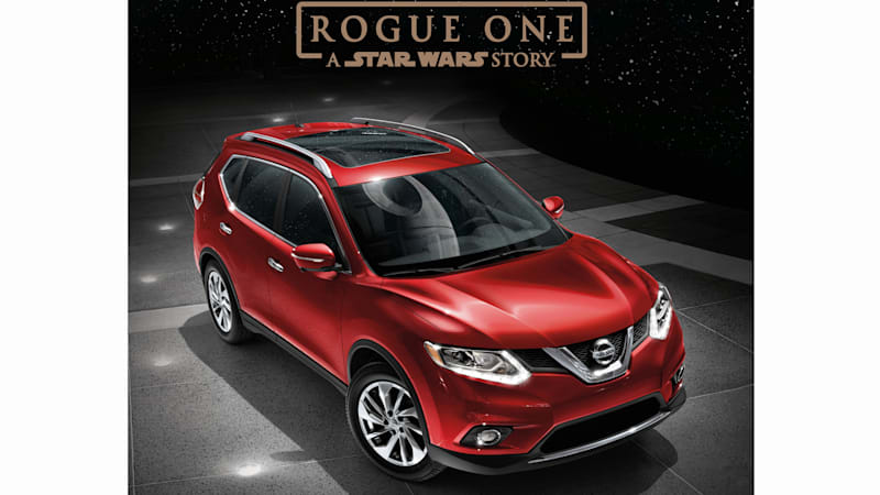 there 39 s a nissan rogue promo tie in with rogue one a star wars story because of course autoblog