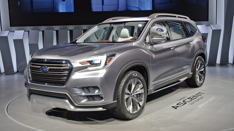 Subaru Ascent three-row SUV set for 2018 launch | Haxcom.com