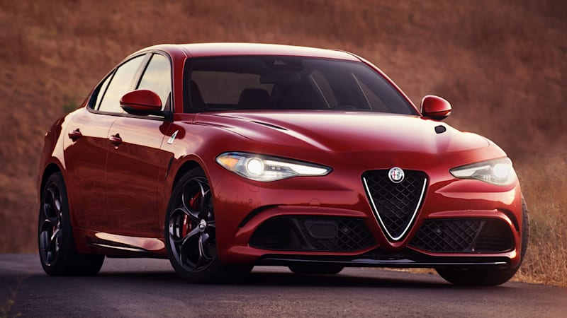 The Alfa Romeo Giulia starts at $38,990, or $73,595 for the Quadrifoglio