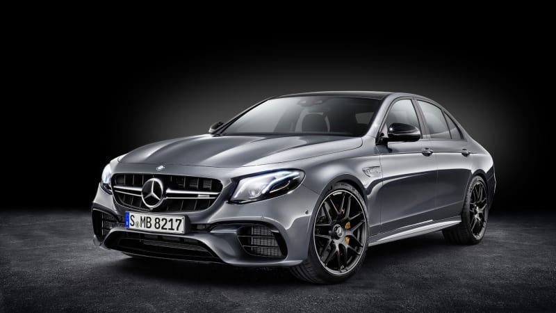 2018 Mercedes-AMG E63 debuts in LA with 603 horsepower