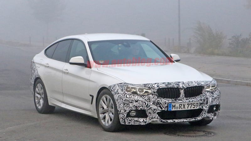 BMW 3 Series GT gets nip and tuck
