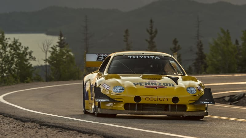 Rod Millen's 1994 Toyota Celica makes a return to Pikes Peak