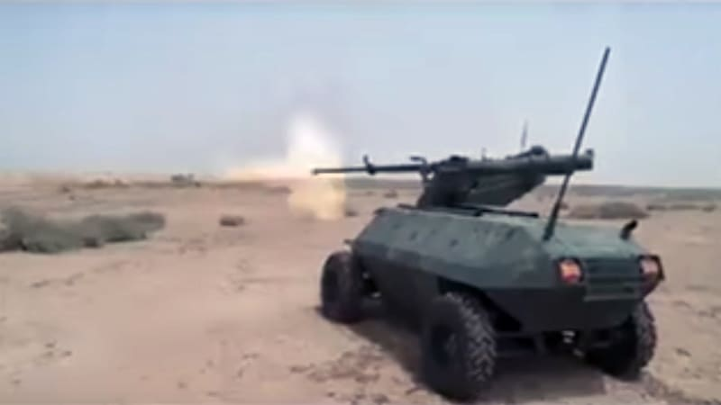 Iraqi Army deploying remote-controlled buggy to help liberate Mosul