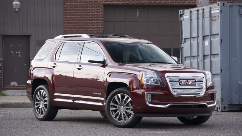 2016 gmc terrain denali quick spin autoblog. Black Bedroom Furniture Sets. Home Design Ideas